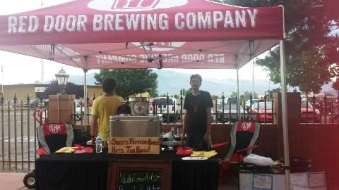Red Door brought a new saison that was one of the best of the fest.