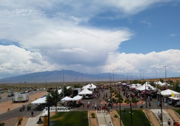 Pork & Brew is back at the Santa Ana Star Center in Rio Rancho, featuring three local breweries in the beer tent.