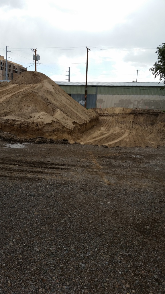 Further proof that the expansion is happening at Marble. That used to be the back parking lot.