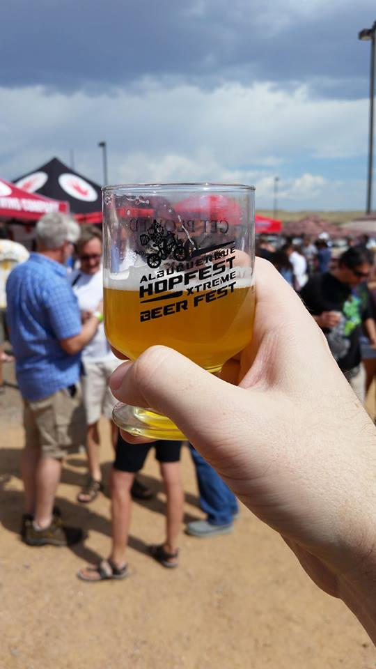 A salute to you, oh mighty Hopfest.