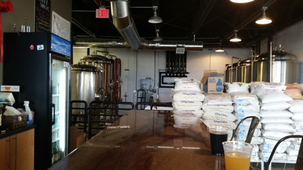 The brewhouse has been churning in Bathtub Row's first year.