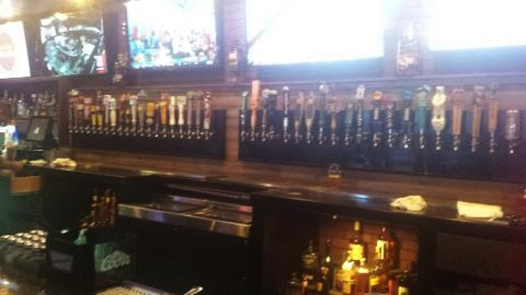 The tap selection at Sinners n Saints is impressive, the vibe less so.