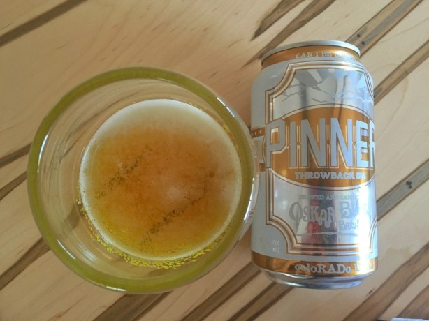 Oskar Blues' Pinner Throwback IPA is the perfect summer beer.