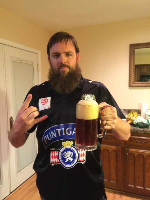 Upon victory, drink thine own beer, listen to metal, celebrate.