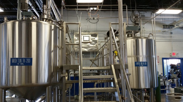 The state-of-the-art 15-barrel brewhouse has been running smoothly.