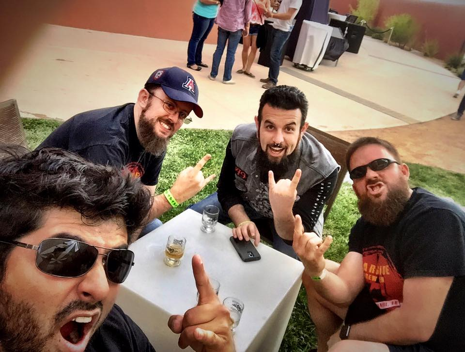 The Crew had a most metal day at Hopfest.