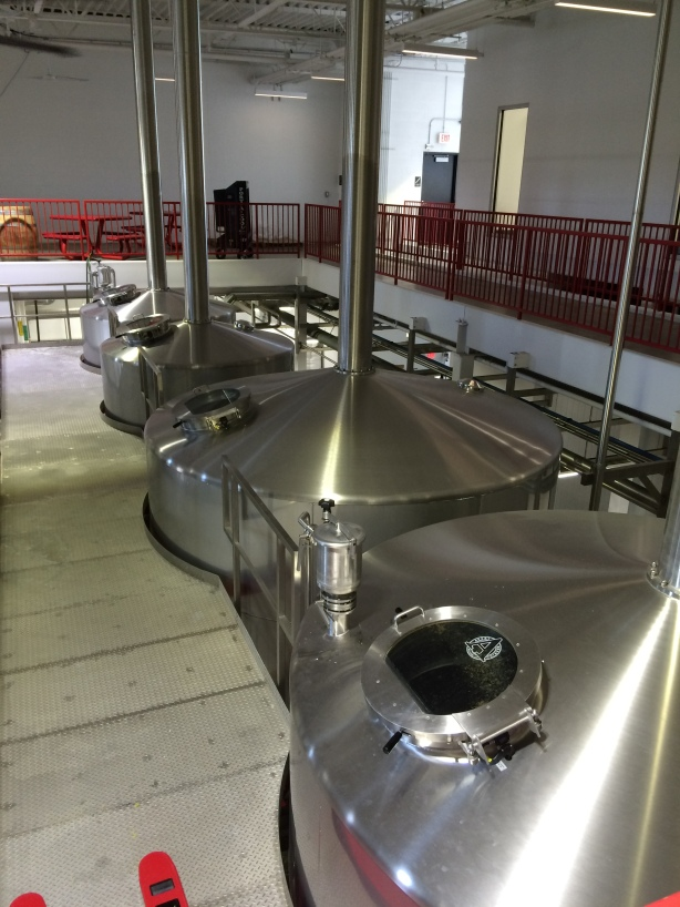 Dear lord, now that is a brewhouse.