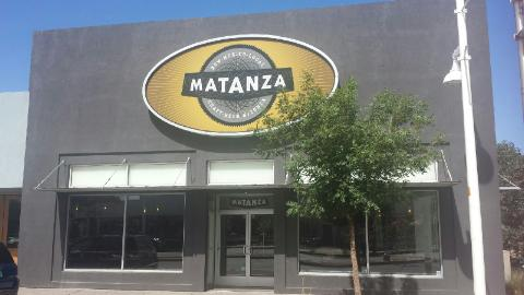 Matanza is located due north of Kellys.