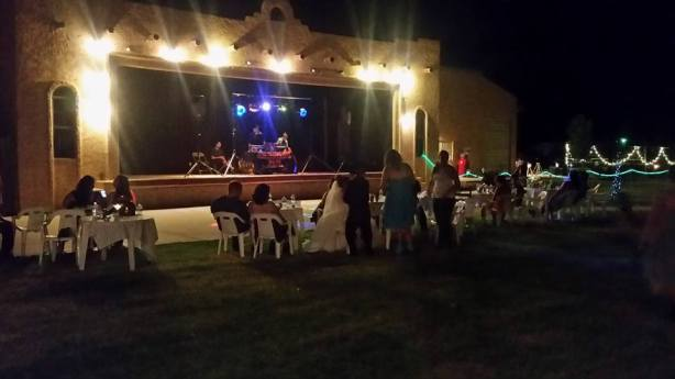 The outdoor stage is one of the most unique features of Picacho Peak. (Courtesy of their Facebook page)