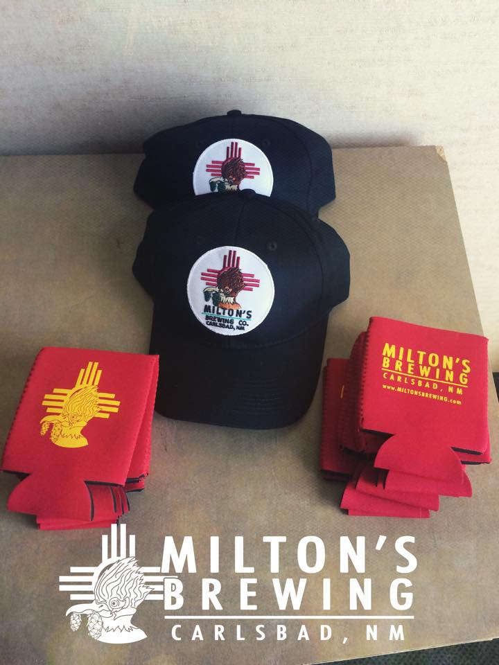 They aren't open yet, but Milton's in Carlsbad already has merch for sale. (Courtesy of their Facebook page)