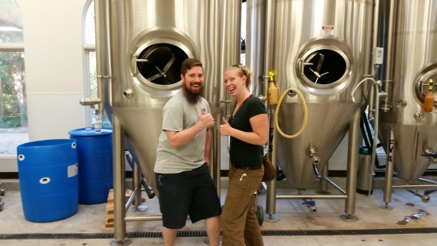 They may be serious about brewing, but when they're off the clock Justin and Kaylynn are anything but overly serious.