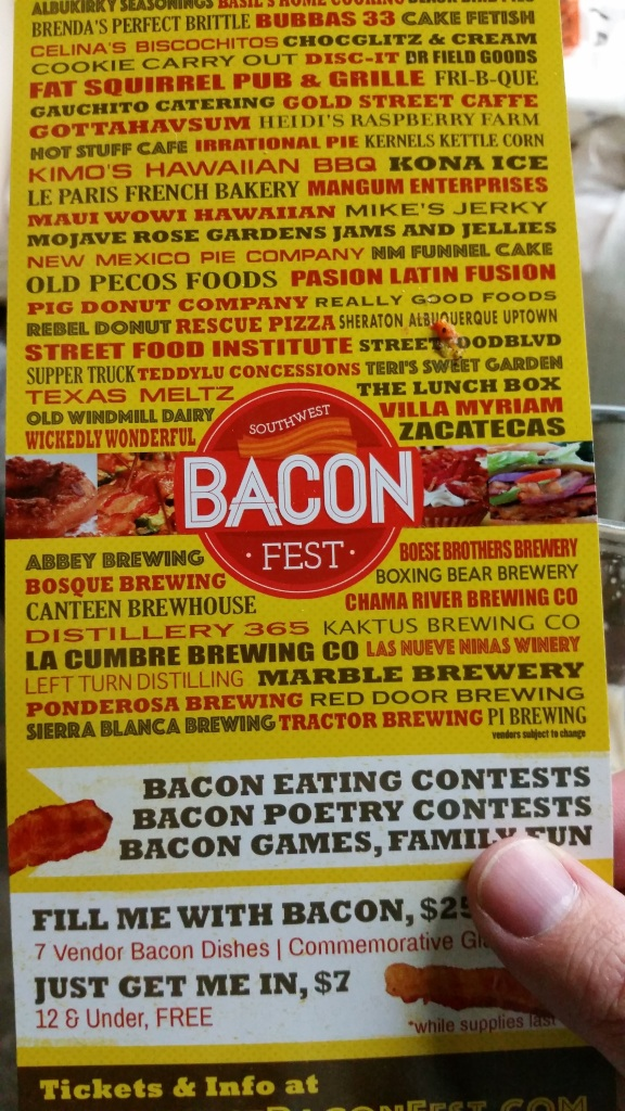 Your brewery list for Bacon Fest, take three.