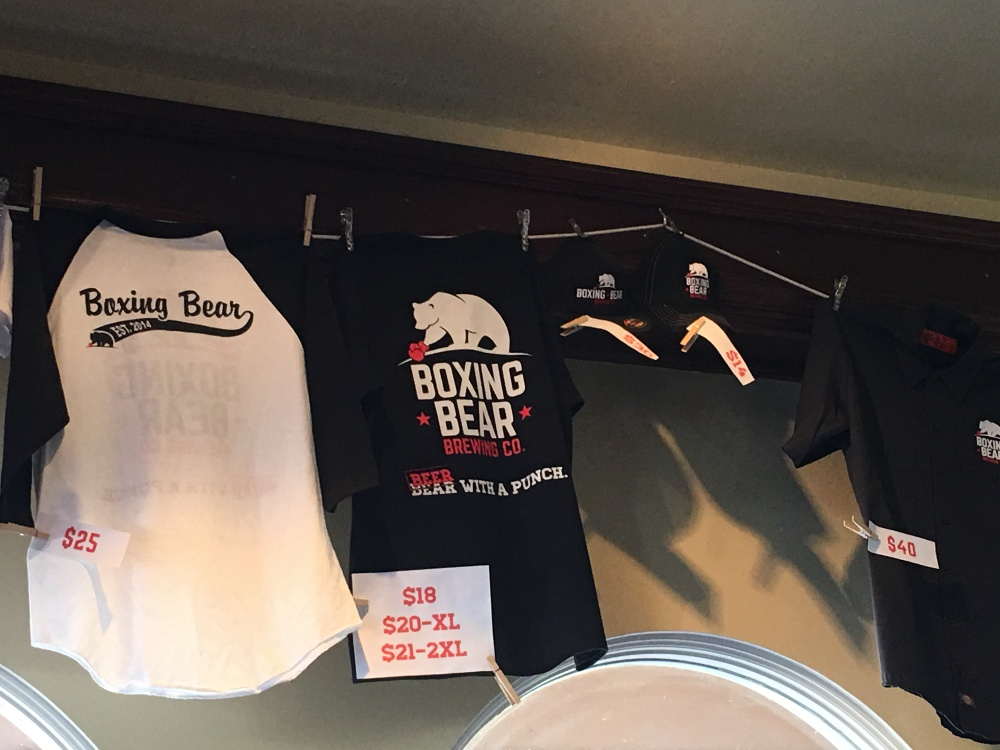 Merch with a punch is available at Boxing Bear.