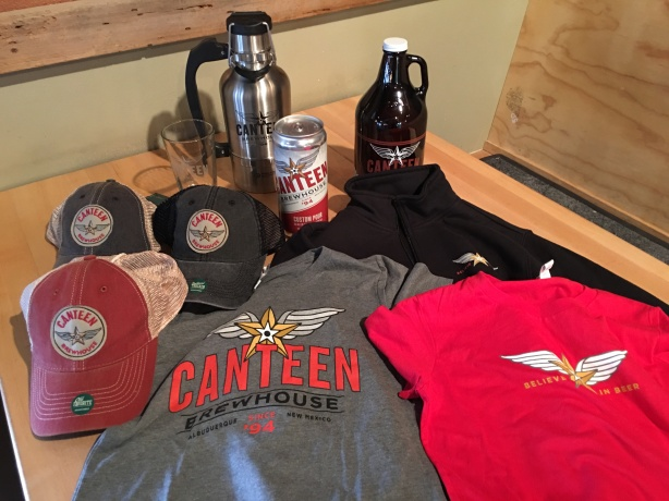 All the clothing and beer gear you could need is at Canteen.