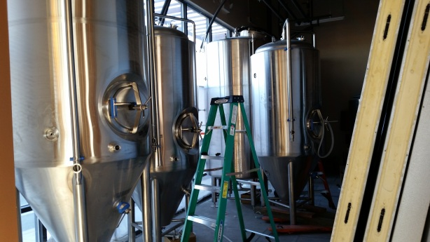 Soon there will be beer here. Soon.