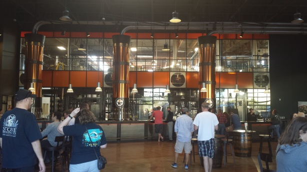 Yeah, that's a big taproom.