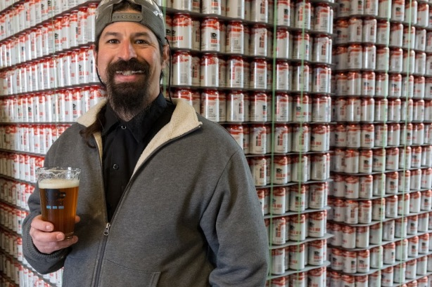 Congrats to Josh Trujillo on becoming a dad and moving up to brewmaster.