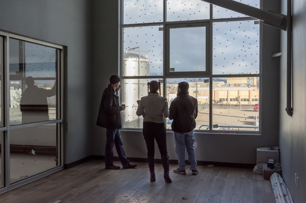 The Marble staff will have quite a view during meetings in their new conference room.