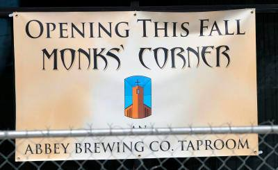 Say hello to the next craft beer destination downtown. (Photo courtesy of Abbey Brewing)
