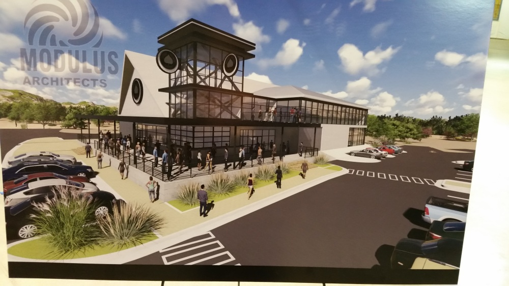 The plans for the Bernalillo taproom and production facility have not changed.
