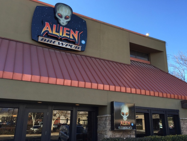 Alien Brew Pub in Albuquerque, NM