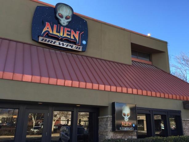 Alien Brew Pub in Albuquerque, NM
