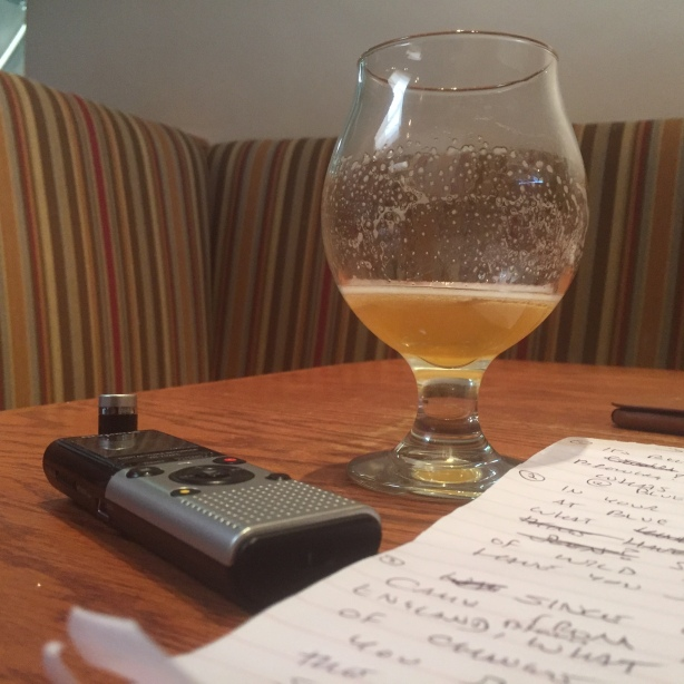 A good beer writer always does his homework.
