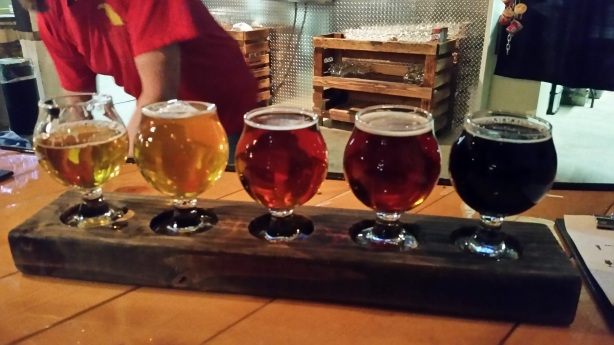 We stumbled upon the beers at Zephyr.