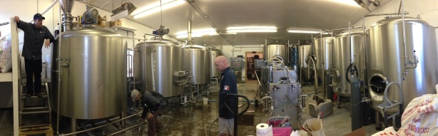 They're getting ready for the grand opening April 16 for Enchanted Circle Brewing in Angel Fire.