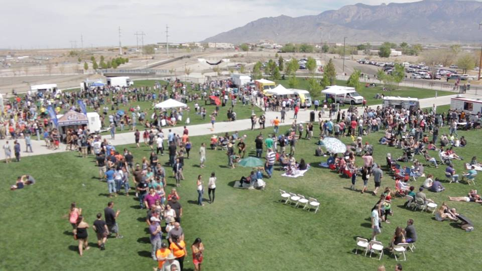 Food trucks, beer, and (hopefully) nice weather are in store for this weekend. (Photo courtesy of Food Truck Festivals of America)