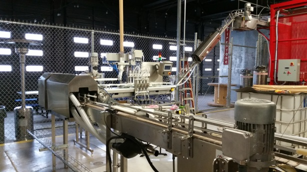The new canning line at Rio Bravo is almost ready to go.