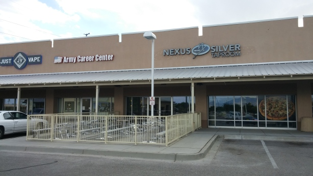 The exterior of the Nexus Silver Taproom hasn't changed since opening, but the inside sure did. We just lack a picture of it. (D'oh!)