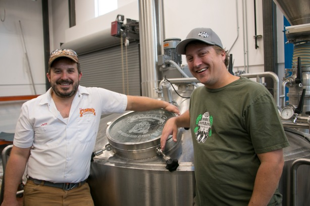 La Cumbre's Jeff Erway and Ska's Thomas Larsen have created a beer together.
