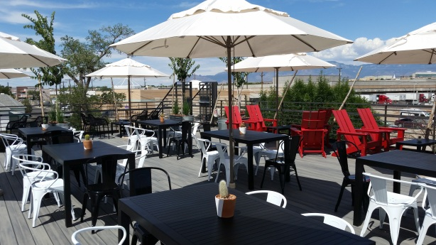 The rooftop deck at Marble downtown opens Friday.
