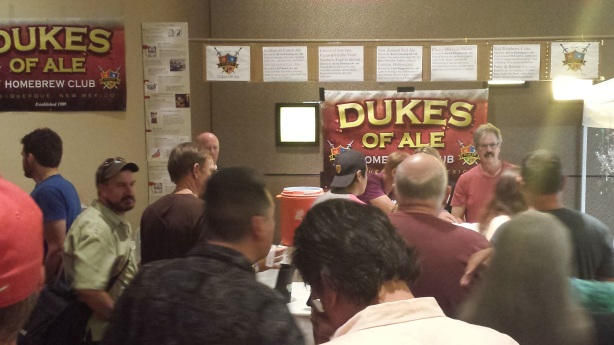 The Dukes of Ale booth was a big hit again.