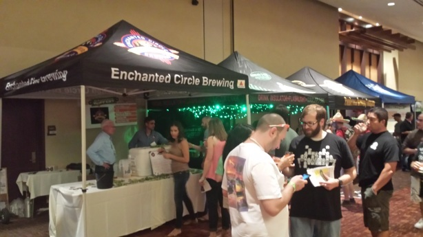 Enchanted Circle made a positive debut at Hopfest.