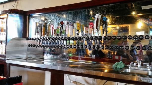 The tap handles are being whittled down until only 20 are left at the revamped Kellys.