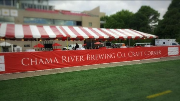 Craft beer is already available during Lobo football games. (Photo courtesy of Chama River)