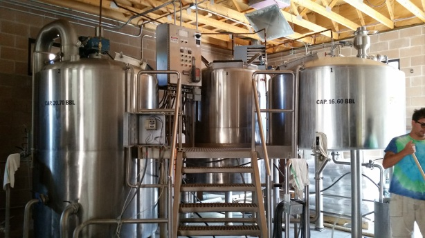 The former La Cumbre brewhouse is ready to start making beer again.