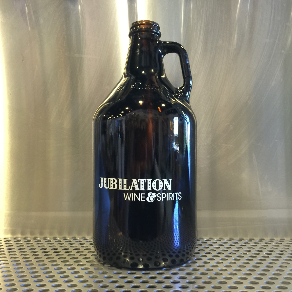 They have growlers if you do not have your own.