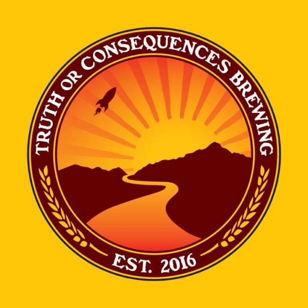 Now that is a distinctive logo. (Image courtesy of Truth or Consequences Brewing)