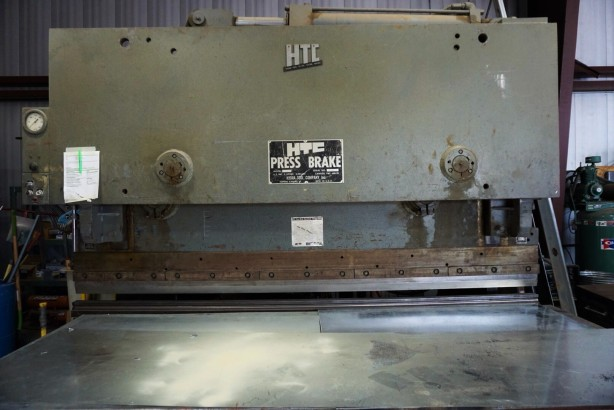 The actual Steel Bender for which the brewery is named.