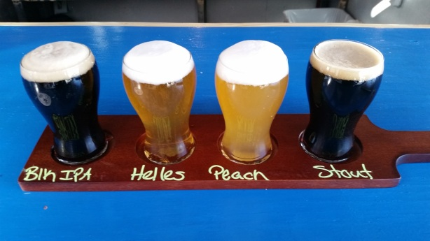 Grabbed a flight, totally unaware only the Black IPA was made by The 377's brewer.