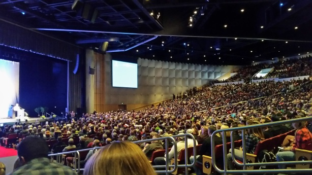 When you have 1,700-plus breweries entered for awards, you get a pretty crowded theater.