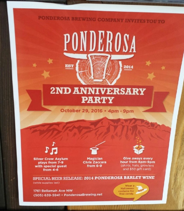 Head on down to Ponderosa this Saturday for some aged barley wine and lots of additional fun.