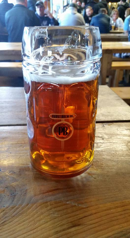 Prost Marzen was totally worth the traffic jam in central Denver.