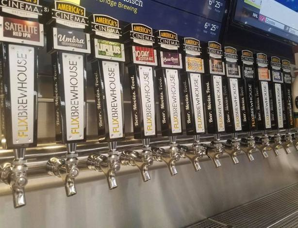 Beer and a movie, anyone? (Photo courtesy of Flix Brewhouse)