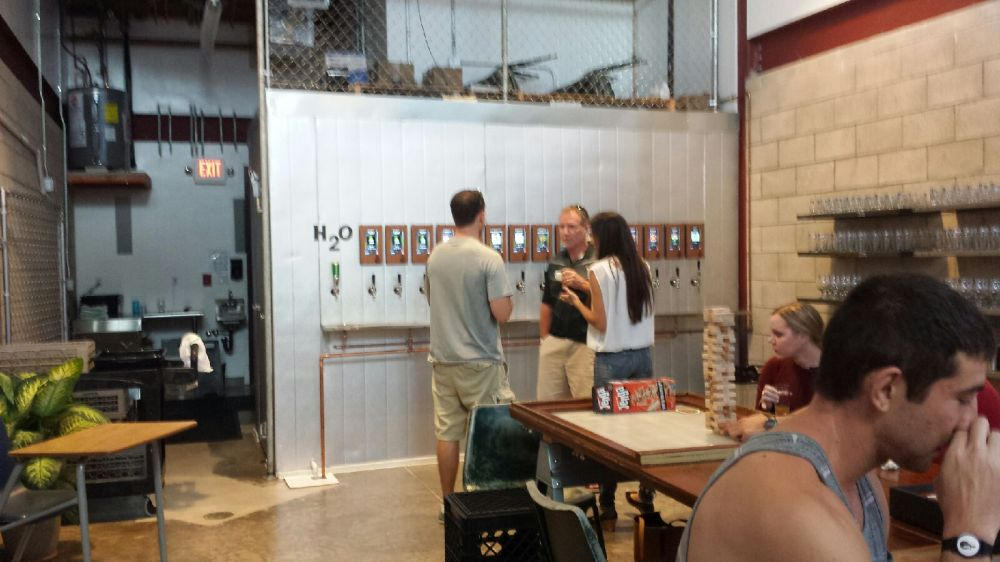A craft beer bar where you can serve yourself? OK, now that's intriguing.