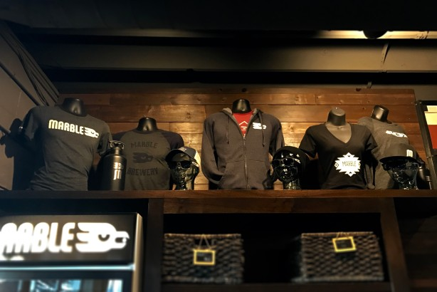 From on high, brewery merch is available for all this holiday season!