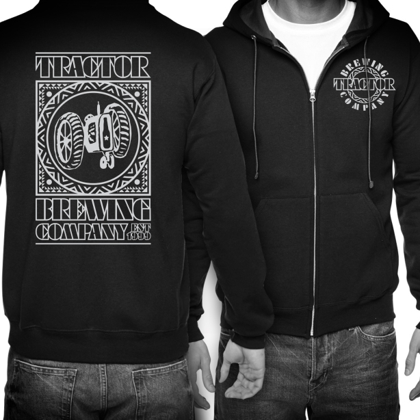 We'll just say it, the new Tractor hoodies are rather metal.